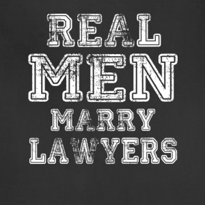 Real Men Marry Lawyers - Adjustable Apron