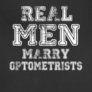 Real Men Marry Optometrists - Adjustable Apron