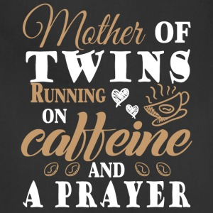 Running On Caffeine And A Prayer T Shirt - Adjustable Apron