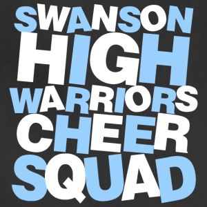 SWANSON HIGH WARRIORS CHEER SQUAD - Adjustable Apron