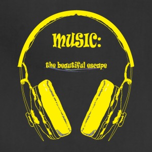 Music - The beautiful escape - Adjustable Apron