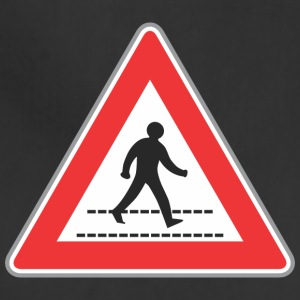 Road_sign_walking_man_sign - Adjustable Apron