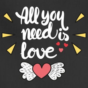 All you need is love - Adjustable Apron