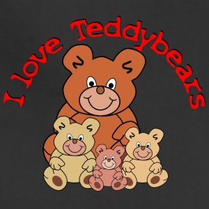 I love Teddybears / I love Teddy bears - Adjustable Apron