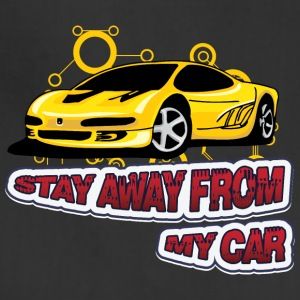 Stay_Away_from_my_car - Adjustable Apron