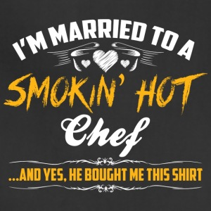 chef married - Adjustable Apron