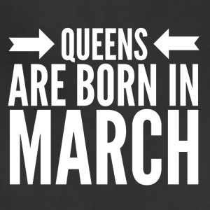 Queens Born March - Adjustable Apron
