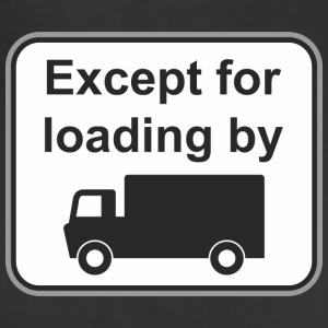 Road_sign_Except_load_by - Adjustable Apron