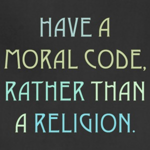 Moral code / Religion 2 - Adjustable Apron