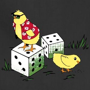 I ve Got Two Chicks and a Pair of Dice - Adjustable Apron
