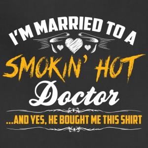 doctor married - Adjustable Apron