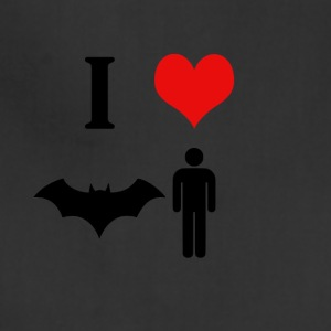 I Heart the Bat - Adjustable Apron