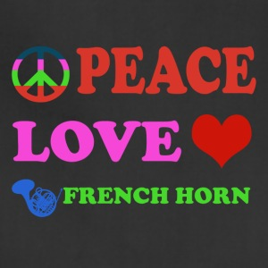 Peace love French Horns - Adjustable Apron