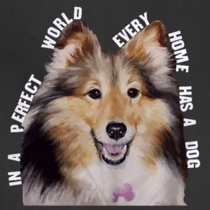Shetland Sheepdog In Every Home - Adjustable Apron