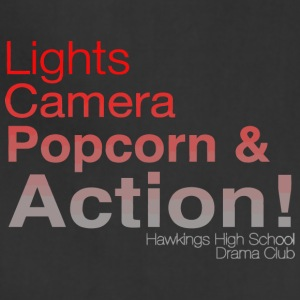 Light Camera Popcorn & Action Hawkings High School - Adjustable Apron