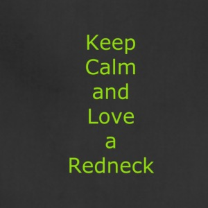 Keep_Calm_and_Love_a_Redneck - Adjustable Apron