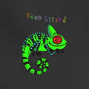 Neon lizard lg - Adjustable Apron