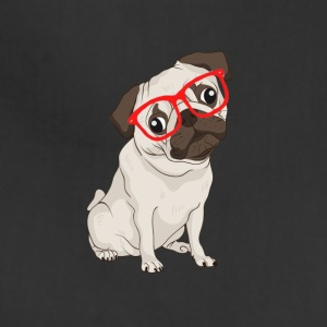 Hipster pugs - Adjustable Apron