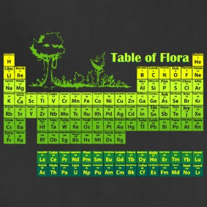 Periodic Flora - Adjustable Apron