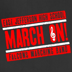 East Jefferson High School March On Falcons March - Adjustable Apron