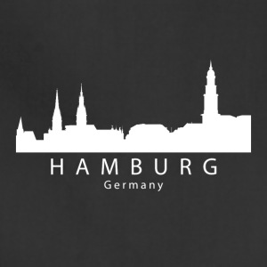 Hamburg Germany Skyline - Adjustable Apron
