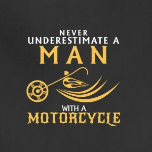 Never Underestimate a Man with a Motorcycle - Adjustable Apron