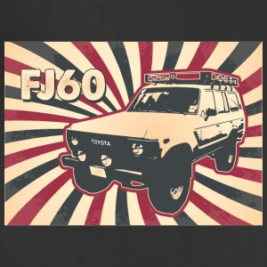 Vintage FJ60 Poster Tee - Adjustable Apron