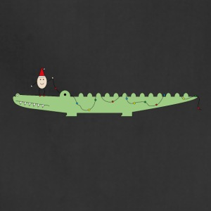 Croc & Egg Christmas - Adjustable Apron