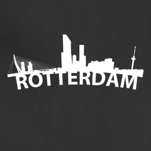 Arc Skyline Of Rotterdam Netherlands - Adjustable Apron