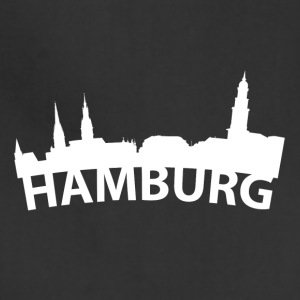 Arc Skyline Of Hamburg Germany - Adjustable Apron