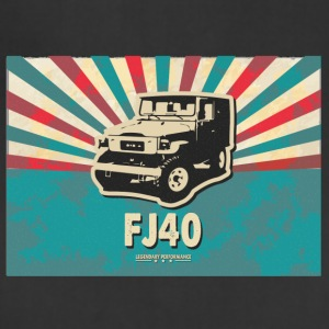 Vintage FJ40 Poster Tee - Adjustable Apron