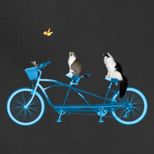 Cats On a Bike - Adjustable Apron