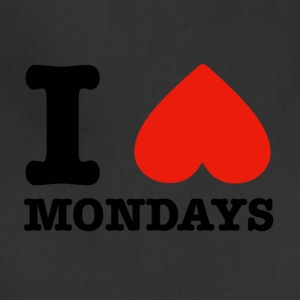 I heart mondays - Adjustable Apron