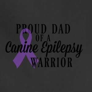 Proud Dad of a Canine Epilepsy Warrior - Adjustable Apron