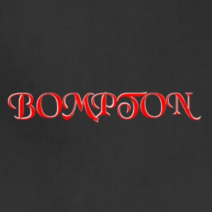 RED AND WHITE BOMPTON CALIFORNIA - Adjustable Apron