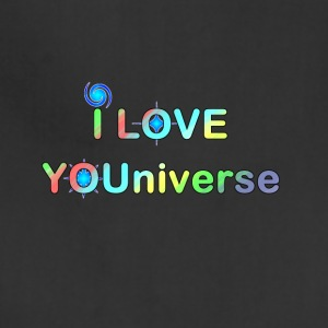 I LOVE YOU UNIVERSE ii - Adjustable Apron