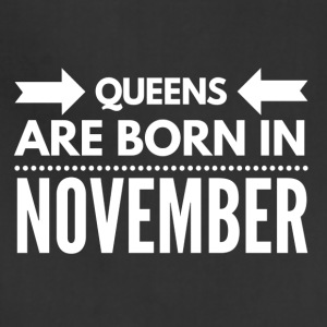 Queens Born November - Adjustable Apron