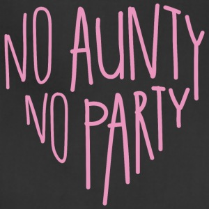 Baby Bodysuit 'no aunty no party' - Adjustable Apron