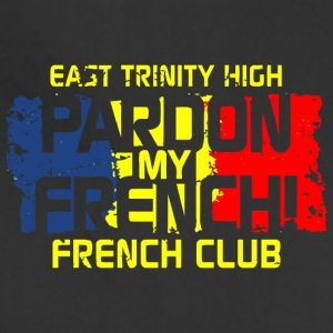 East Trinity High Pardon My French French Club - Adjustable Apron