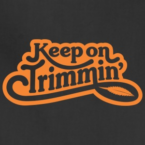 keepontrimmin_orange - Adjustable Apron