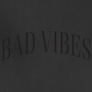 Bad Vibes Word Logo - Adjustable Apron