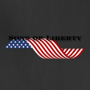 sons of liberty flag - Adjustable Apron