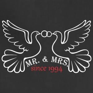 Mr And Mrs Since 1994 Married Marriage Engagement - Adjustable Apron