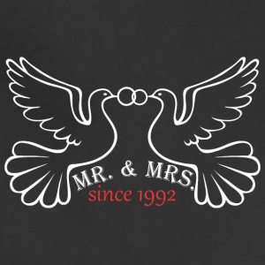 Mr And Mrs Since 1992 Married Marriage Engagement - Adjustable Apron