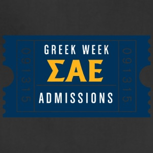 Greek Week Admissions - Adjustable Apron