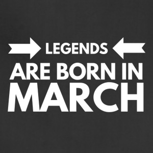 Legends Born March - Adjustable Apron