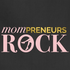Mompreneurs Rock Logo PINK - Adjustable Apron