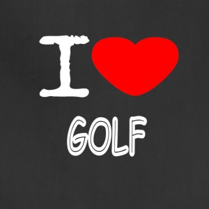 I LOVE GOLF - Adjustable Apron
