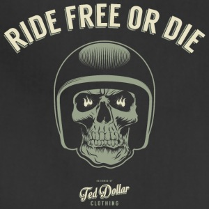 Ride free or die - Adjustable Apron