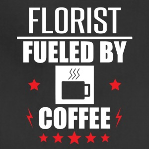 Florist Fueled By Coffee - Adjustable Apron